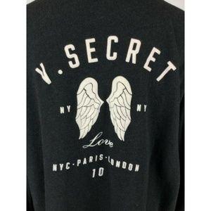 Victorias Secret Wings Hoodie NY Paris London 10'